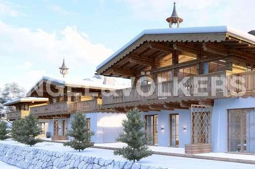 W-02BCJF Neubau: Tiroler Chalets in TOP Lage - Rohbau bereits fertig gestellt