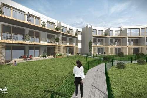 MIETKAUF -- 2-Zimmer Wohnung mit 39m² Garten !