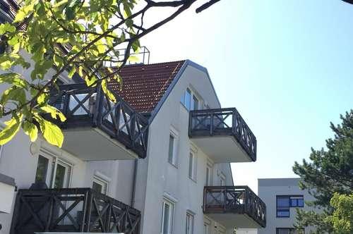 Maisonette mit 3 Zimmern und 35 m2 Dachterrasse