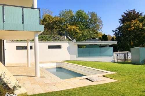 MIETKAUF - Gartenwohnung mit Pool und zwei Garagenplätzen