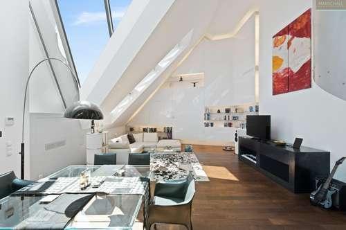 Designer-Penthouse in Zentrumsnähe mit Investitionsablöse