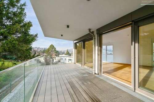 Modernes Neubauapartment mit Terrassen und Traumblick