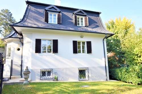 Stilvolles Einfamilienhaus im Schlosspark Neuwaldegg