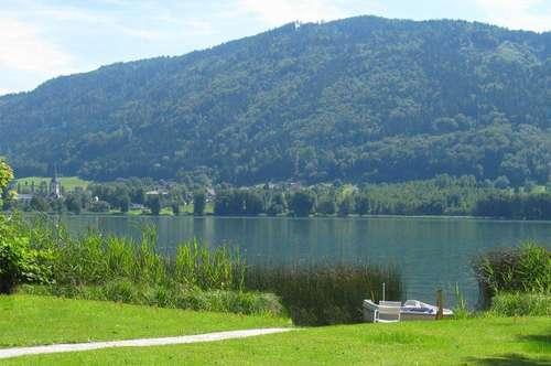 Seeidylle am Ossiacher See (großer Seebaugrund)