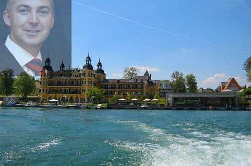 Seeliegenschaft in Velden am Wörthersee  Seevilla zum Verlieben