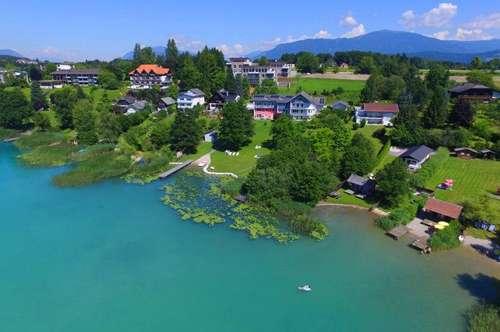 Faakersee - Sonnengarten-Wohnung mit Seeblick