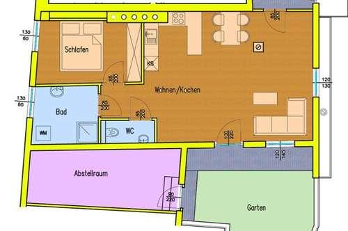 VÖLKENDORF Neue Großzügige 2-Zimmerwohnung mit großem Wohnzimmer !