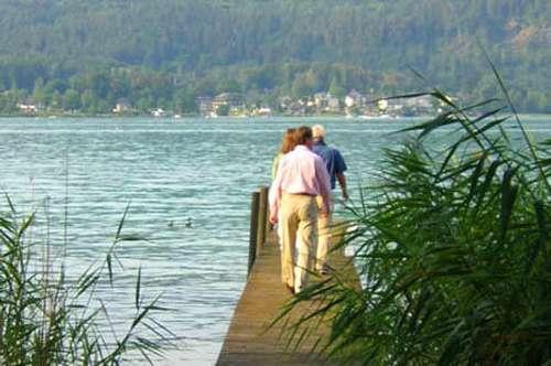 Seehaus bei Pörtschach /Wörthersee  See-Immobilien in Kärnten