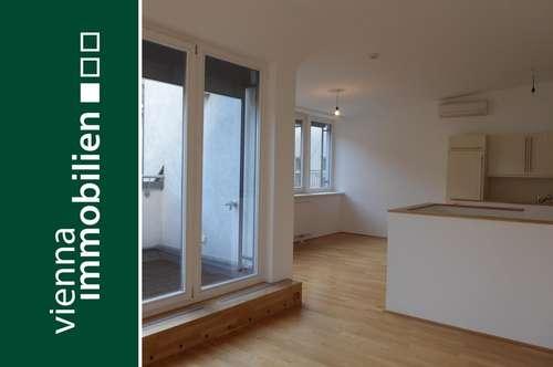 2-Zimmer Maisonette Wohnung mit Terrasse