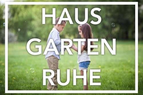 Ruhiges Englischgrün | Garten. Hause. Ruhe.