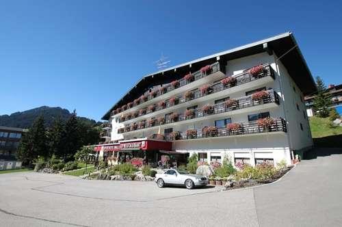 Ferienwidmung: modernisierte 1- Zimmerwohnung mit Balkon und schöner Aussicht in Hirschegg / Kleinwalsertal