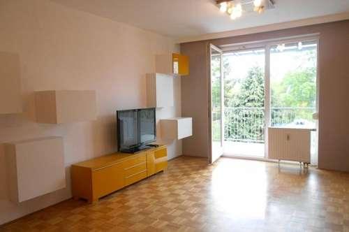 Grünblick Bestlage St.Peter ruhige 2ZI teilmöbliert+10m² Balkon barrierefrei, Carport