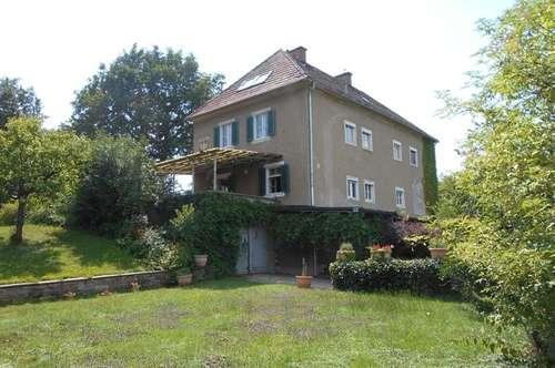 RARITÄT nahe Graz HERRENHAUS in Alleinlage Grund 3127m²+Nebengebäude