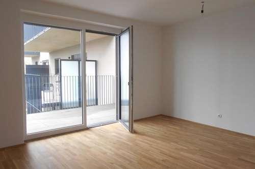 """WohnenAmFluss"" sonnige 2ZI+16m² Balkon am Murradweg nahe Seifenfabrik Erstbezug, provisionsfrei"