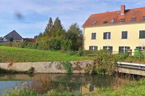 NATUR PUR- ERSTBEZUG Wohnen am Fluss Ruhige 2ZI+Terrasse+PP