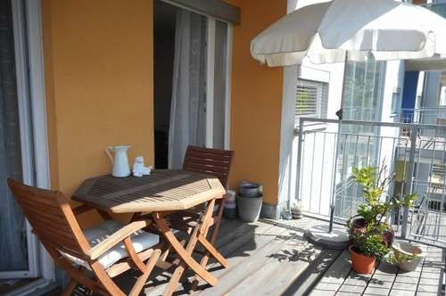 LENDPLATZ sonnige 2ZI + großer Balkon-Innenhof, TG, unbefristet, barrierefrei