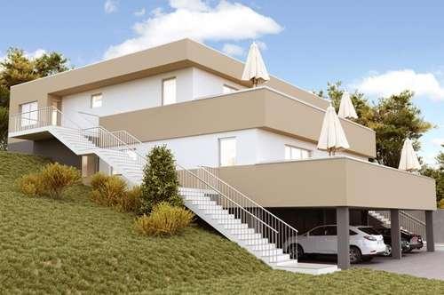 Stadtnähe PENTHOUSE-FLAIR 3ZI+Terrasse-Garten+Carport  schöner Ausblick ! Provisionsfrei !