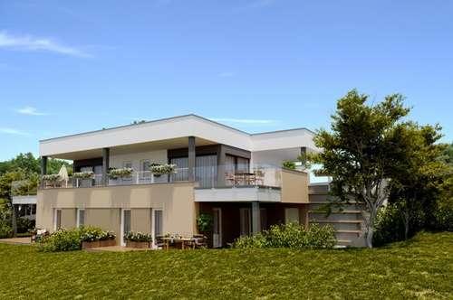 Natur pur mit Traumblick ! Maisonette-Doppelhaus NEUBAU ruhige Grünlage mit Balkon+Garten