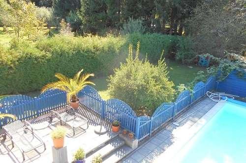 Familienidylle 6ZI (2Wohneinheiten) Terrassenanlage Pool+Garten Grundstück 1167m² sonnige Ruhelage