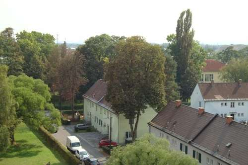 Liebenau: Balkon - Lift - im Grünen - mit Aussicht - sehr ruhig - sonnige Lage - Nähe Magna