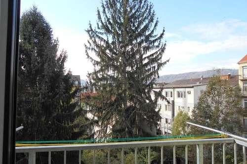 LEND an der Mur klassischer Altbau 2ZI+West / Balkon Innenhof