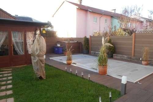 Idylle in Straßgang 3ZI+Terrasse mit Garten Pool,Garten-Saunahaus saniert,gefördert ! PP