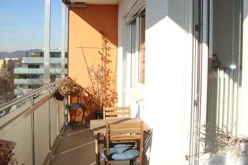 GEIDORF: mit Blick über die Mur-Landschaft - sonnig - ruhig - Balkon - Lift + Garage