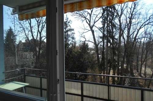 BOTANIK KF-UNI  3-4 sonnige,ruhige ZI+2 Balkone mit Grünblick, parken frei nahe Hilmteich