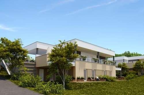 NEUBAU ! Maisonette-Reihenhaus in erhöhter Ruhelage schöner Ausblick mit Balkon Terrasse, Garten
