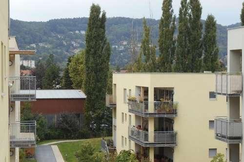 """""""Peter Rosegger""""  3ZI+Balkon ruhig, ökologisch in Massivholz/Lehmbauweise"""