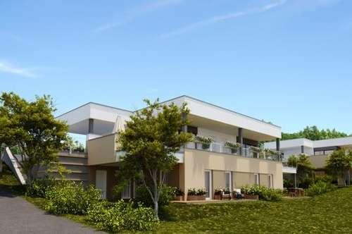 Neubau-Doppelhaus in erhöhter Ruhelage Schöner Ausblick mit Balkon Terrasse und Garten