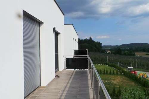 TOP LAGE NEUBAUPROJEKT hochwertiges Reihenhaus  mit Balkon, Terrasse und Eigengarten 2 Carports