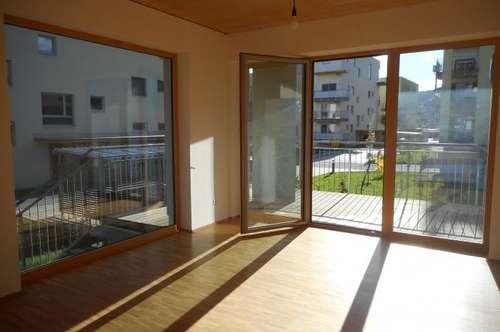 """""""Peter Rosegger"""" 3ZI+Balkon ruhig, ökologisch  in Massivholz/ Lehmbauweise"""
