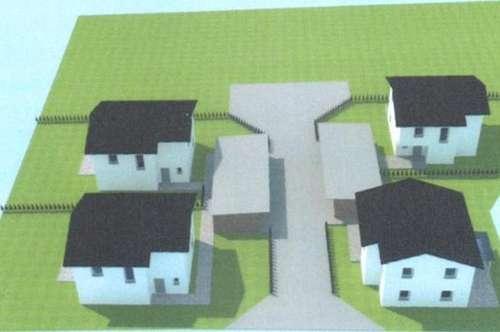 Gleisdorf-Nähe: Projekt mit 4 Einfamilienhäuser + Eigengrund + Doppelcarport - beziehbar 2020