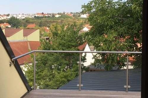 90 m² DG mit Terrasse-Weitblick