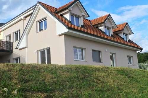 ERSTBEZUG- sonnige Höhenlage stilvolle 4ZI+2 Bäder Terrasse+Balkon Carport