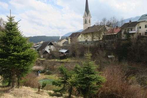 Sonniges ruhiges Grundstück in Hermagor