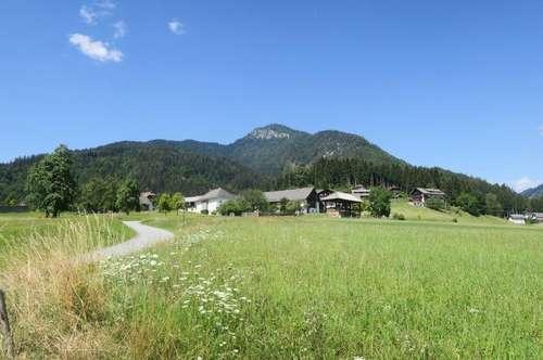 Sonniges Grundstück in Weißbriach/Weissensee