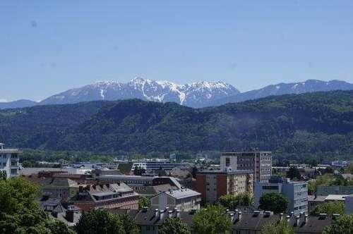 3-Zimmr-Mietwohnung mit Panoramablick in Zentrumsnähe Klagenfurt