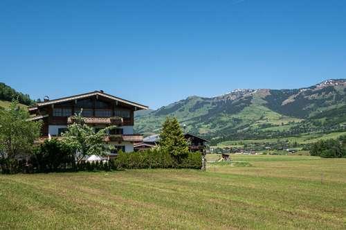 Traditionelle Wohnung in Traumlage von Jochberg