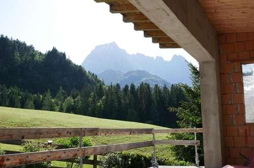 Rohbau mit Kaiserblick in ruhiger Lage von Gasteig - Kirchdorf