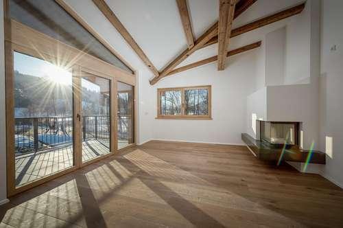 Luxus Dachgeschoss Wohnung in Schwarzsee Nähe (inkl. Möbel) Top 3