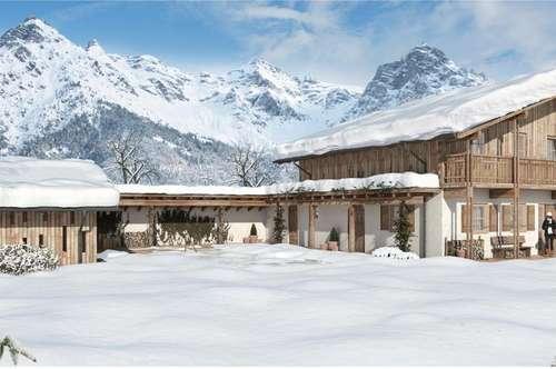 Landhaus Projekt im Pillerseetal