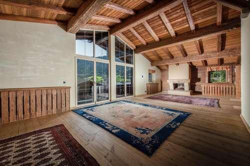 Traditionelle Dachgeschosswohnung in Reith bei Kitzbühel