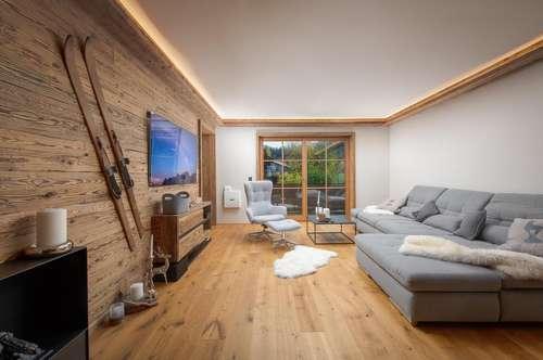 Eine neu errichtete Etagenwohnung am Golfplatz von Ellmau