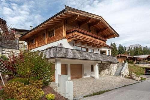 Villa im Tiroler Landhausstil in ruhiger Aussichtslage von Söll
