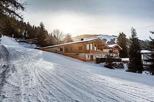 Der Ausblick als Highlight- Landhaus an der Skipiste mit Panoramablick