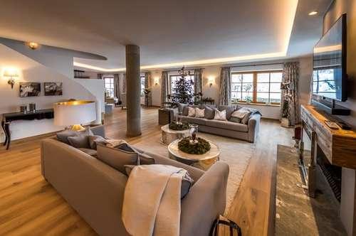 Großzügiges Luxuslandhaus in Bestlage - mit Blick über Kitzbühel
