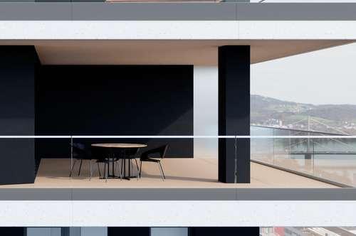 Ein wahrer Brillant! Unvergleichliche Wohnung mit Penthouse-Charakter, atemberaubenden Ausblicken und Werten für Generationen!
