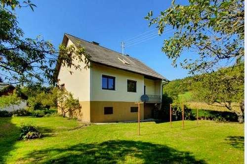 Renovierungsbedürftiges Einfamilienhaus nahe Gleisdorf